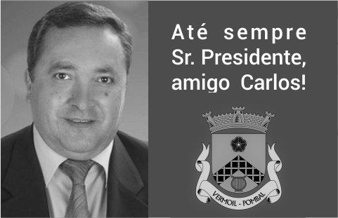 A freguesia de Vermoil está de luto. Faleceu o Presidente Carlos Santos. O funeral realiza-se amanhã, às 16h00, nos Matos da Ranha