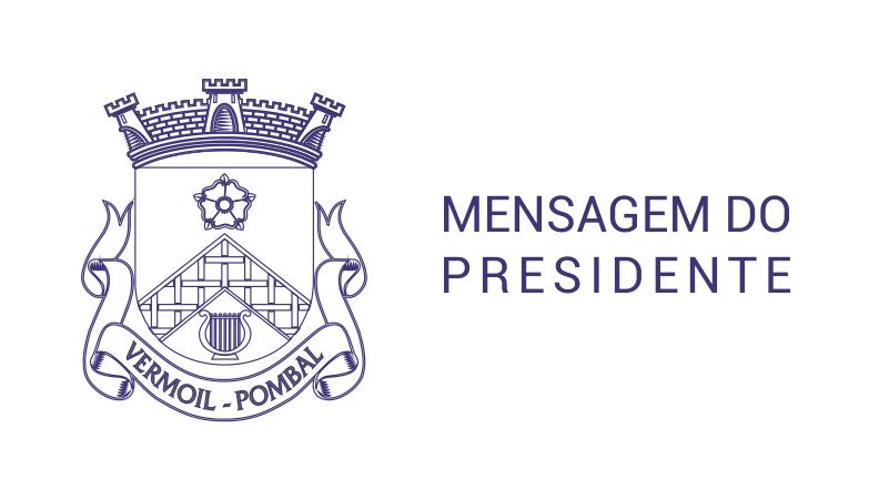 Mensagem do Presidente da Junta