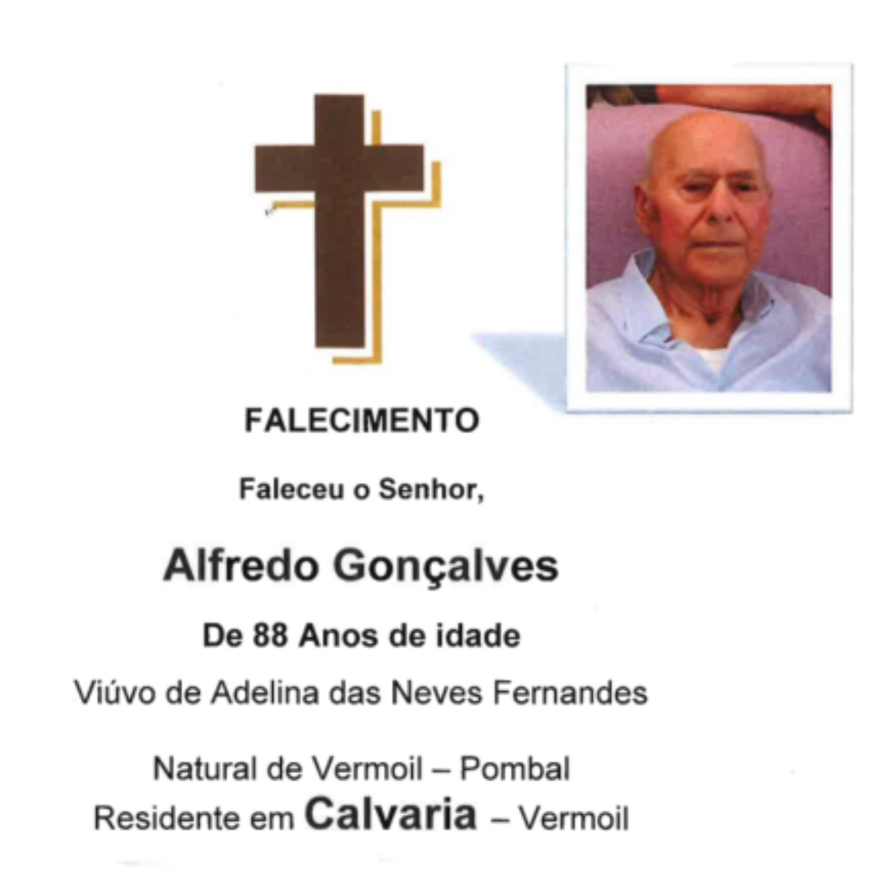 03-09-20 - Alfredo Gonçalves - Calvaria