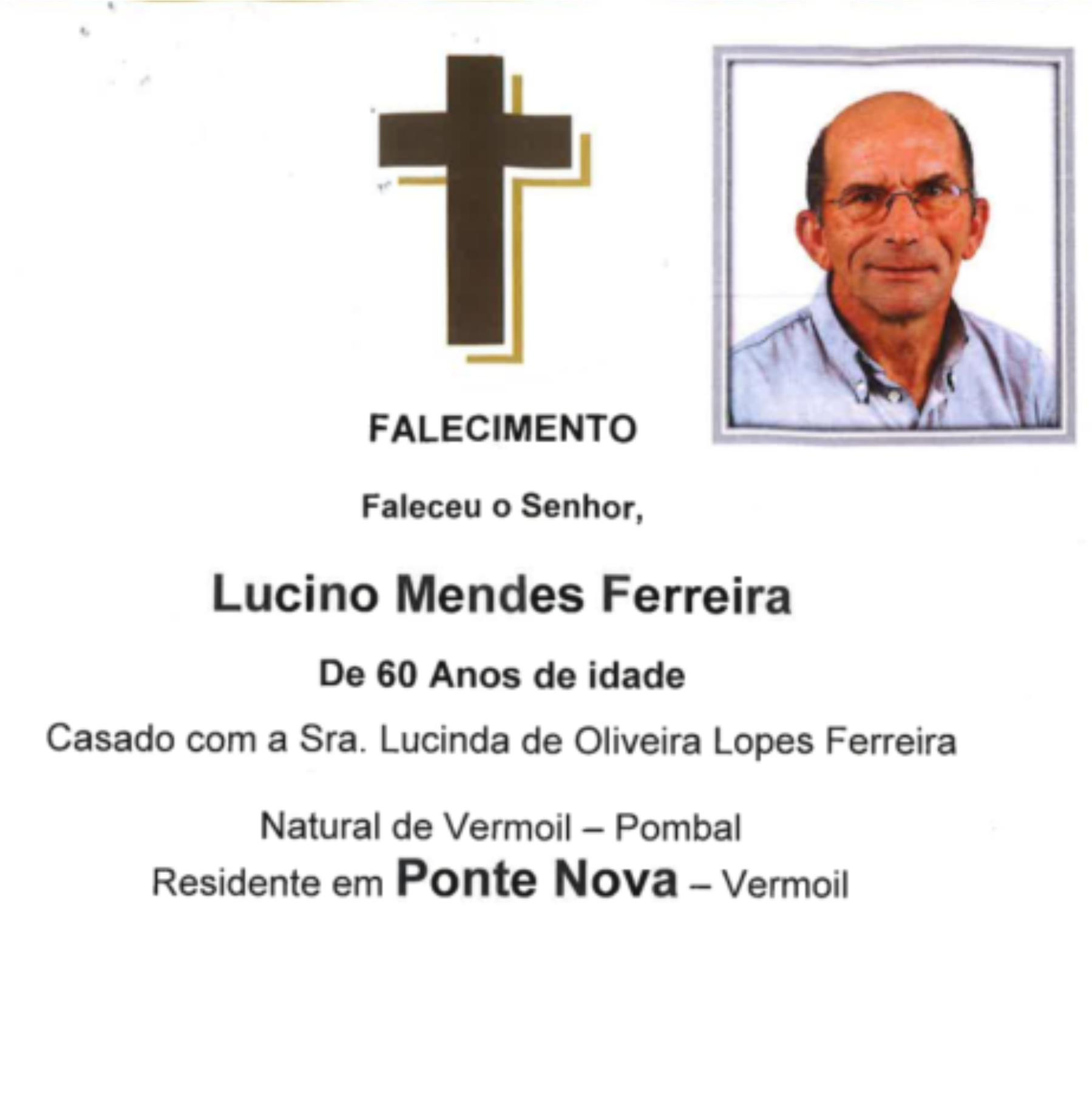 16-04-20 - Lucino Mendes Ferreira - Ponte Nova