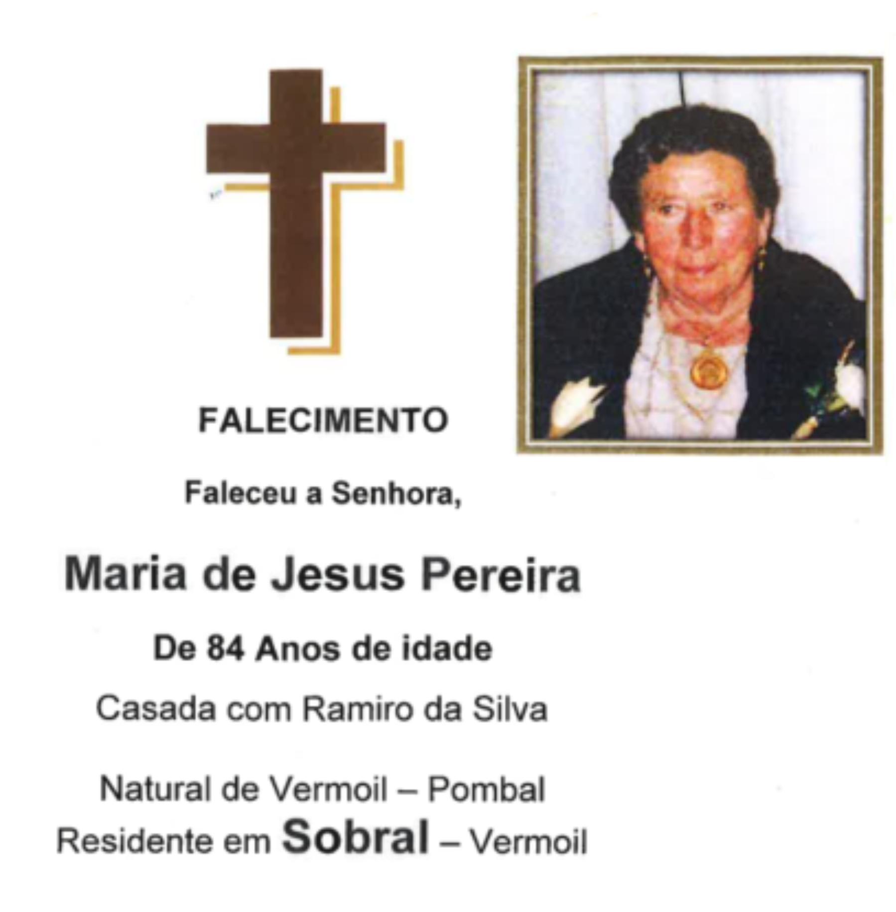 20-08-20 - Maria de Jesus Pereira - Sobral