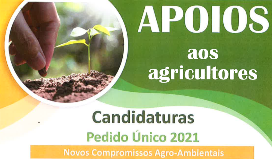 Candidaturas a apoios à agricultura – 2021