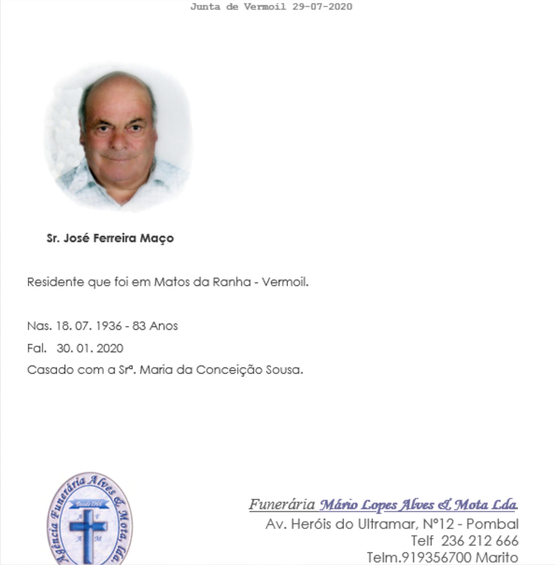 30-01-20 - José Fernandes Maço - Matos da Ranha