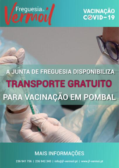 Transporte gratuito para vacinação