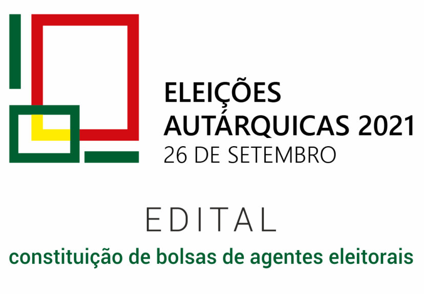 Autárquicas 2021 – Edital bolsas de agentes eleitorais